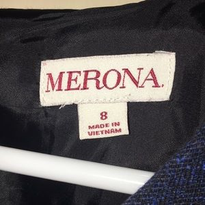 Merona Dresses - Formal Navy Blue Dress